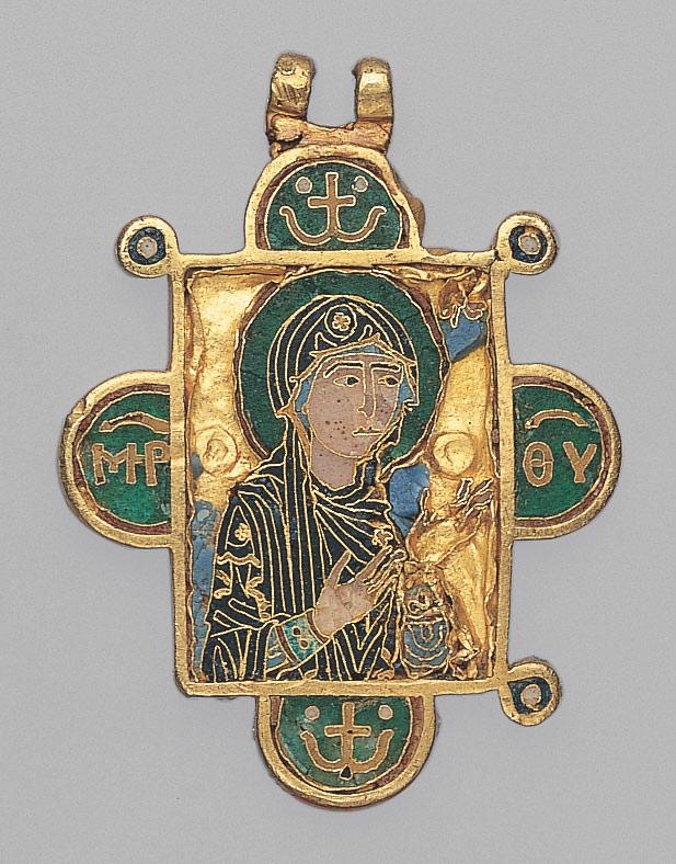 Andachstbildchen Byzanz Metropolitan Museum